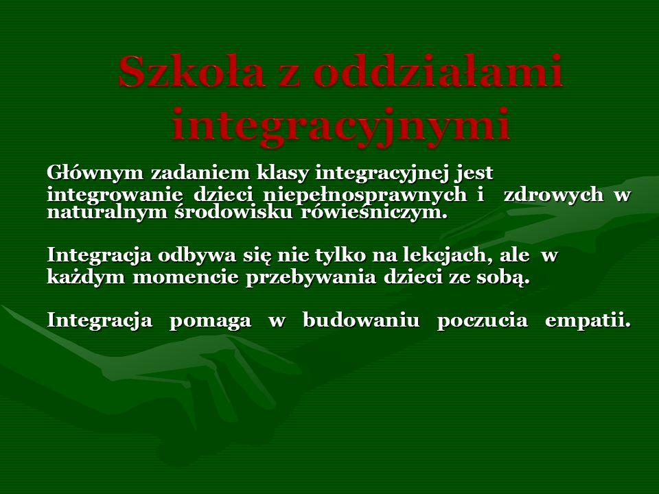 Szkoła z oddziałami integracyjnymi