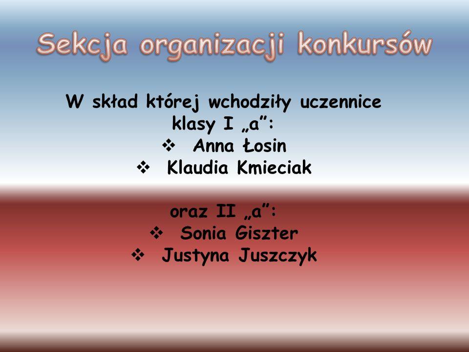 Sekcja organizacji konkursów
