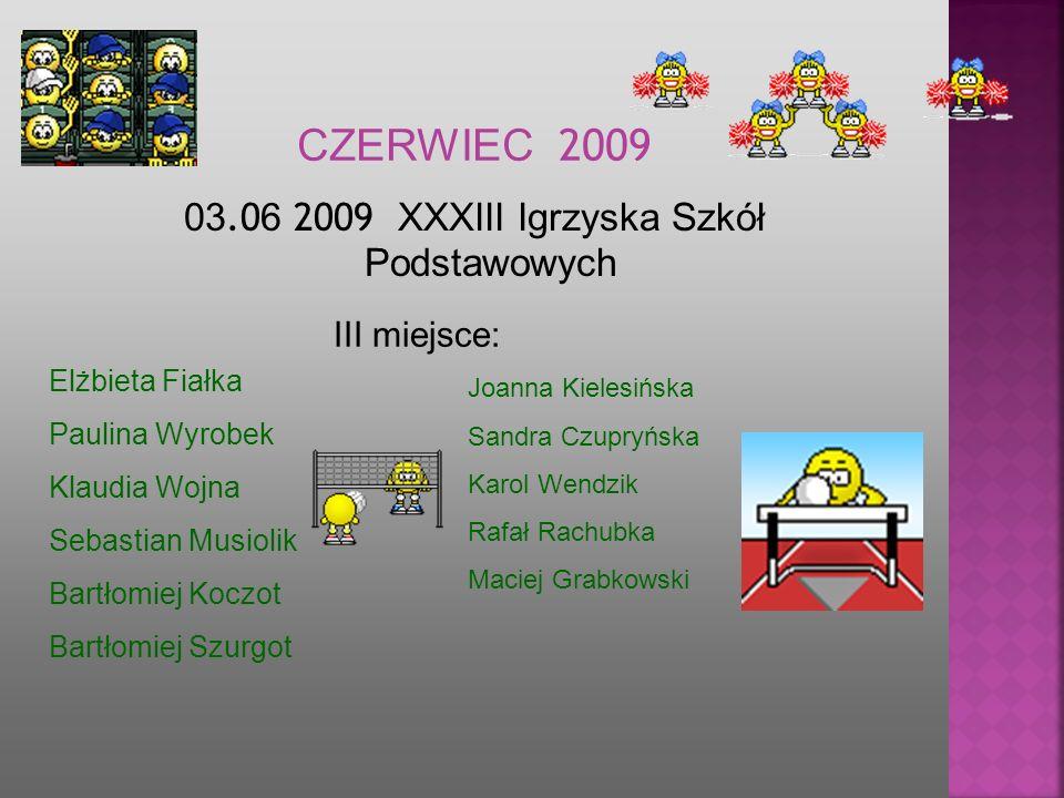 03.06 2009 XXXIII Igrzyska Szkół Podstawowych