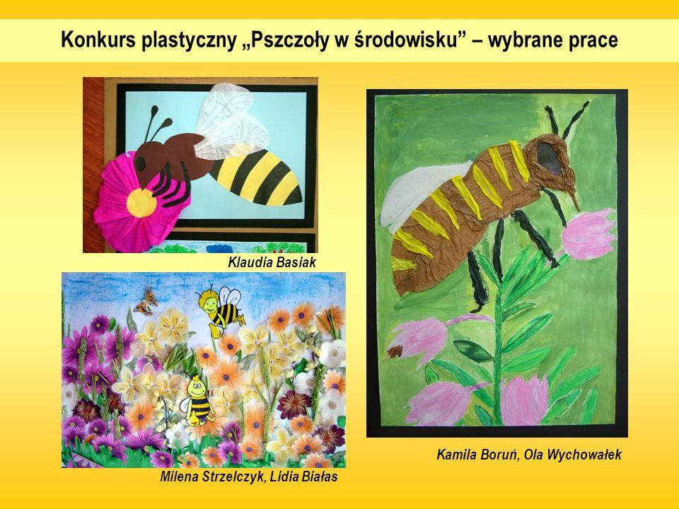 """Konkurs plastyczny """"Pszczoły w środowisku – wybrane prace"""
