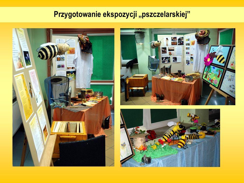 """Przygotowanie ekspozycji """"pszczelarskiej"""