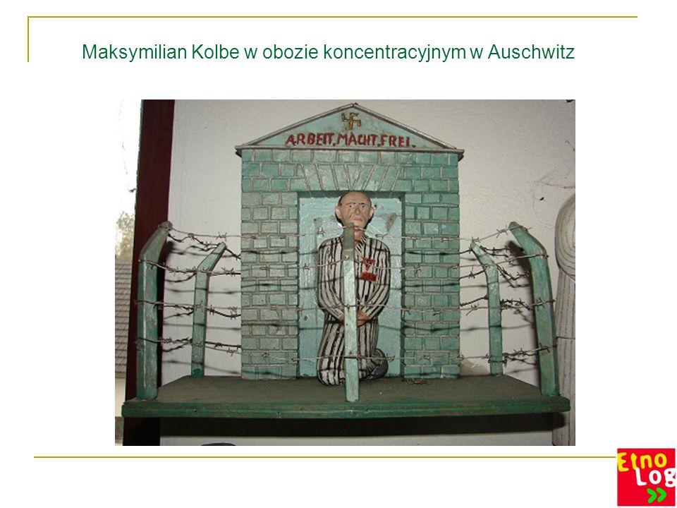Maksymilian Kolbe w obozie koncentracyjnym w Auschwitz
