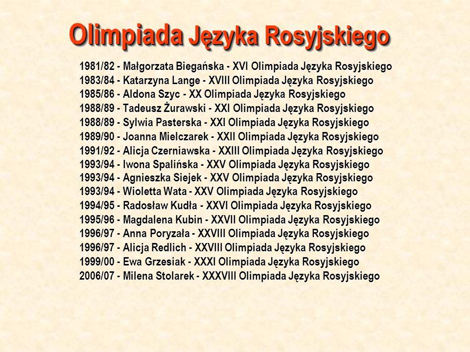 Olimpiada Języka Rosyjskiego