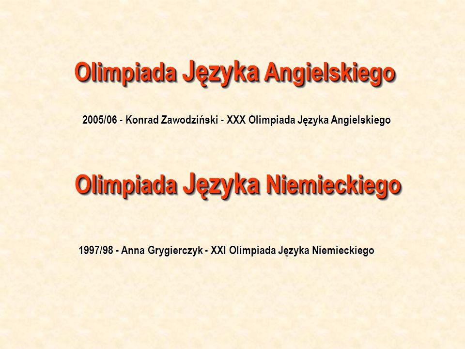 Olimpiada Języka Angielskiego