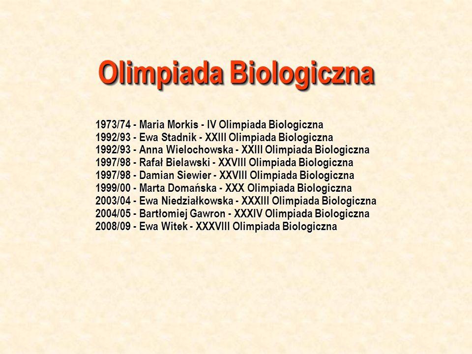Olimpiada Biologiczna
