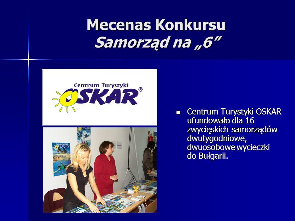 "Mecenas Konkursu Samorząd na ""6"