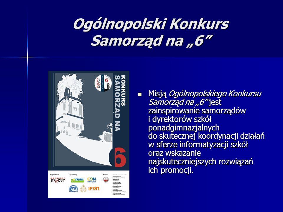 """Ogólnopolski Konkurs Samorząd na """"6"""