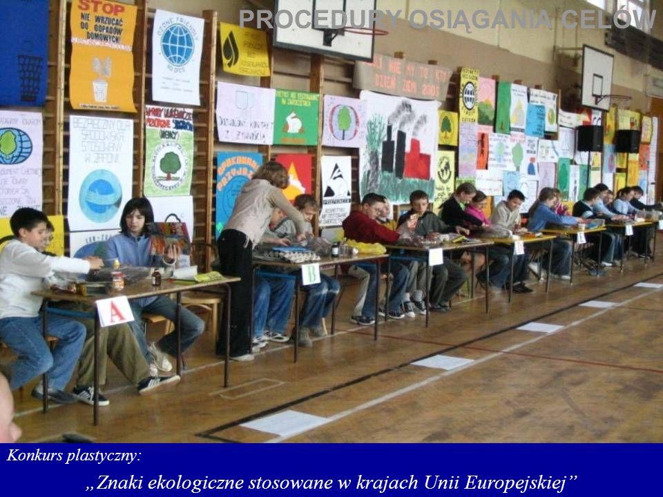 """""""Znaki ekologiczne stosowane w krajach Unii Europejskiej"""