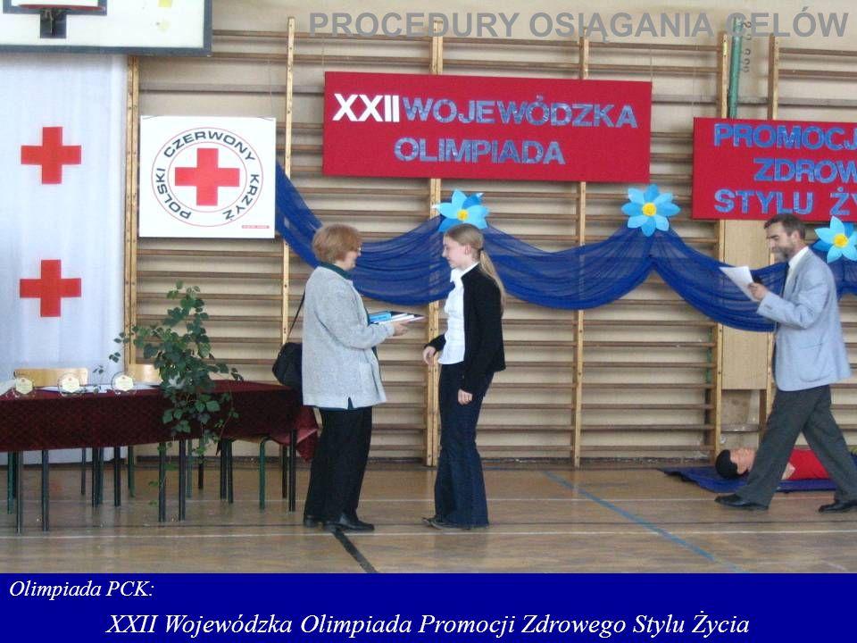 XXII Wojewódzka Olimpiada Promocji Zdrowego Stylu Życia