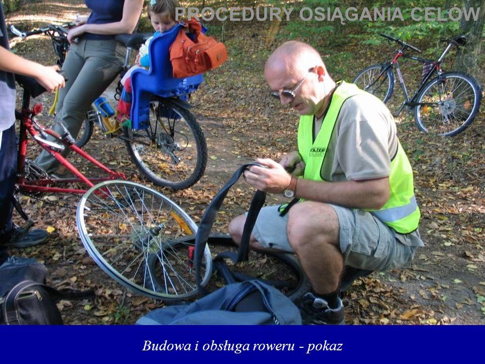 Budowa i obsługa roweru - pokaz