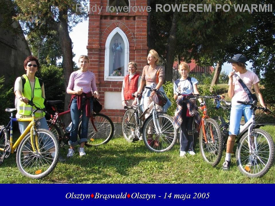 Olsztyn♦Brąswałd♦Olsztyn - 14 maja 2005