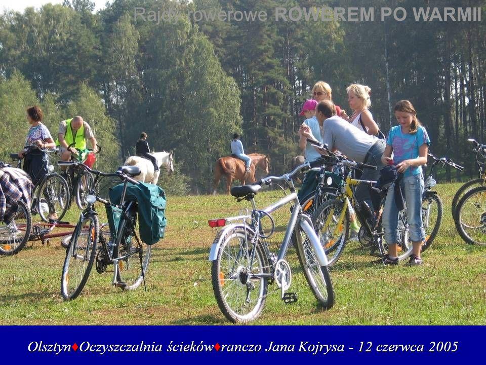 Olsztyn♦Oczyszczalnia ścieków♦ranczo Jana Kojrysa - 12 czerwca 2005