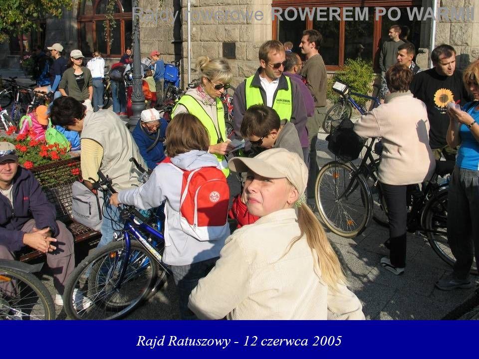 Rajd Ratuszowy - 12 czerwca 2005