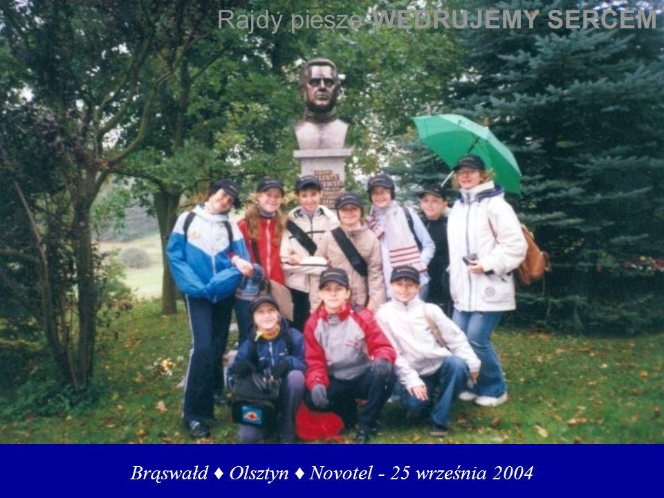 Brąswałd ♦ Olsztyn ♦ Novotel - 25 września 2004