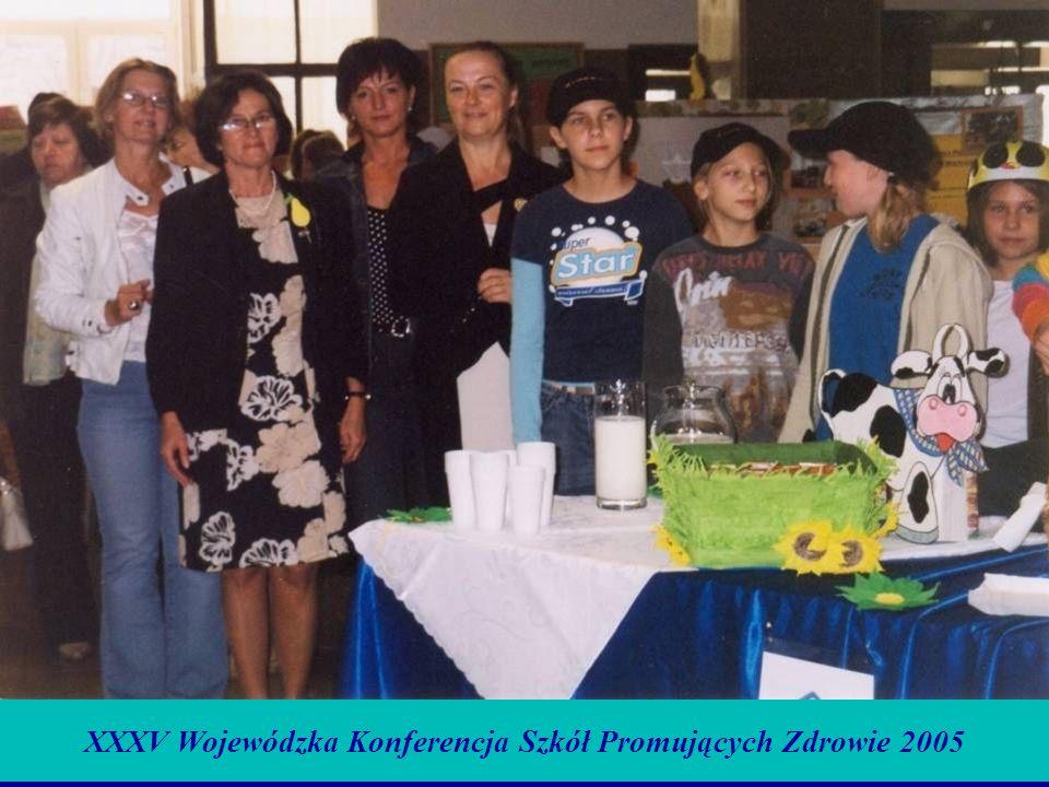 XXXV Wojewódzka Konferencja Szkół Promujących Zdrowie 2005