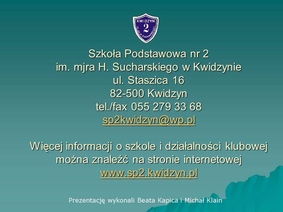 Szkoła Podstawowa nr 2 im. mjra H. Sucharskiego w Kwidzynie ul