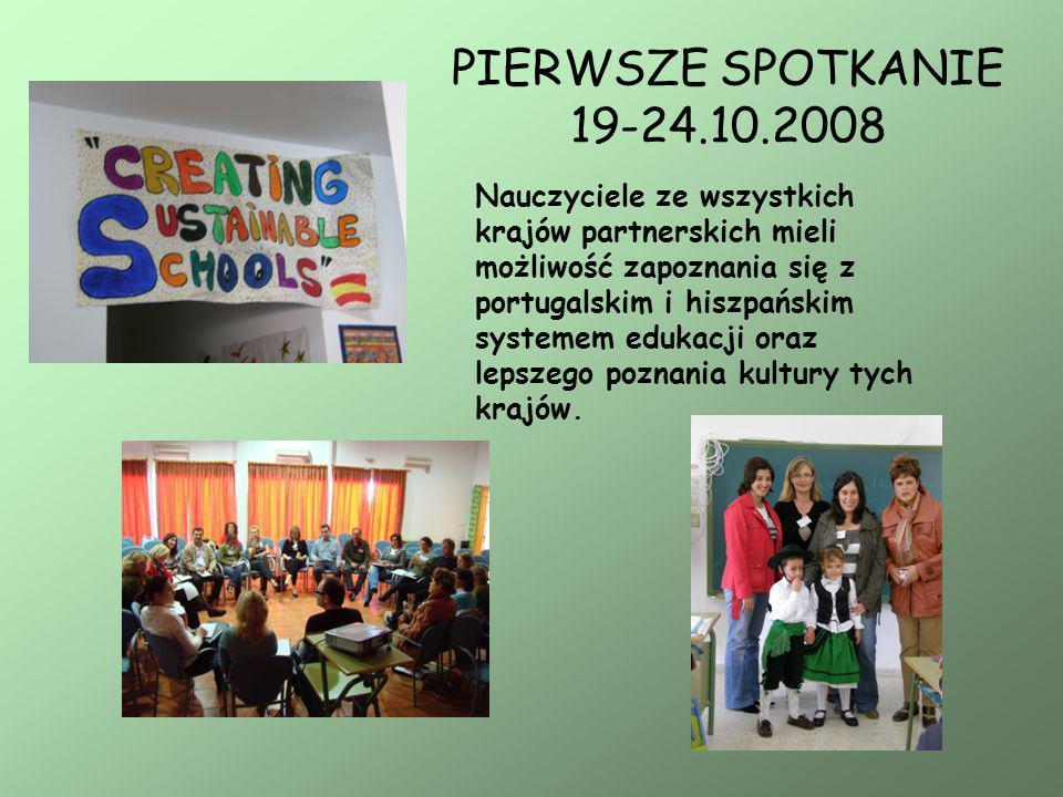 PIERWSZE SPOTKANIE 19-24.10.2008