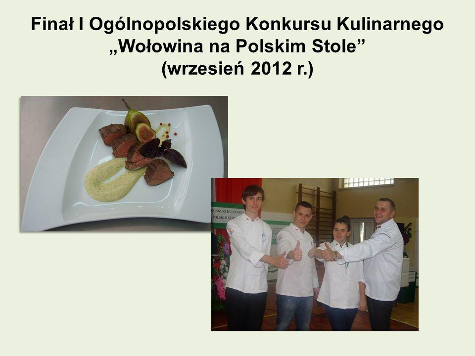 """Finał I Ogólnopolskiego Konkursu Kulinarnego """"Wołowina na Polskim Stole"""