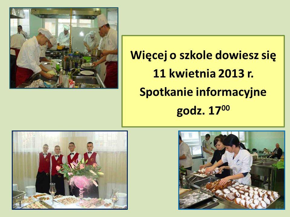 Więcej o szkole dowiesz się 11 kwietnia 2013 r