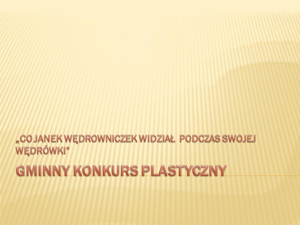 GMINNY KONKURS PLASTYCZNY