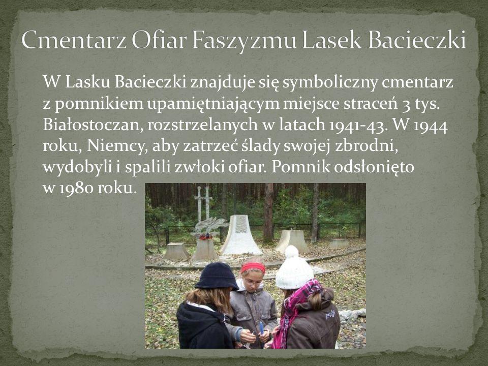 Cmentarz Ofiar Faszyzmu Lasek Bacieczki