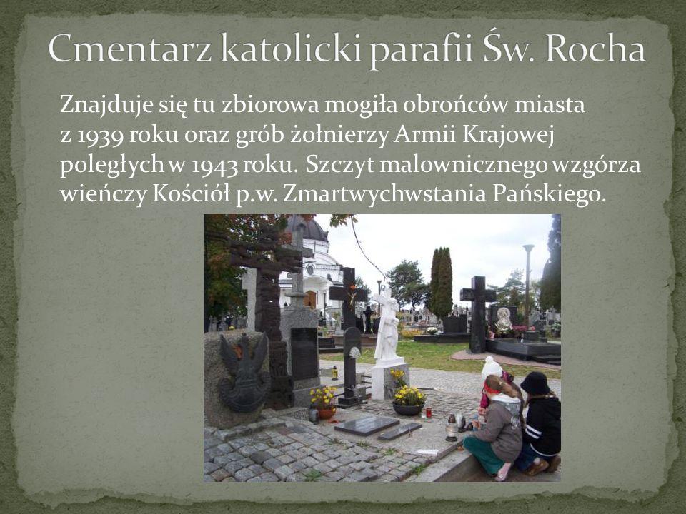 Cmentarz katolicki parafii Św. Rocha