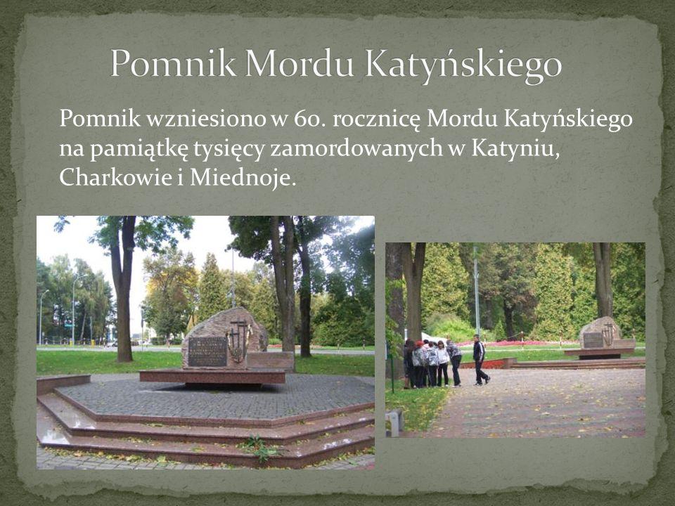 Pomnik Mordu Katyńskiego