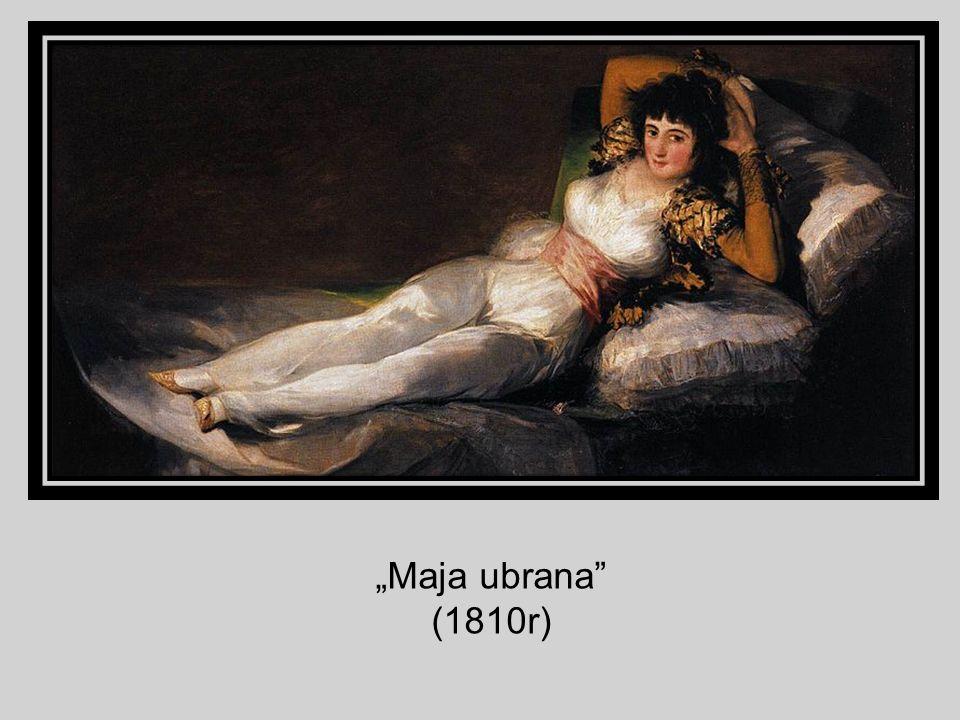 """""""Maja ubrana (1810r)"""