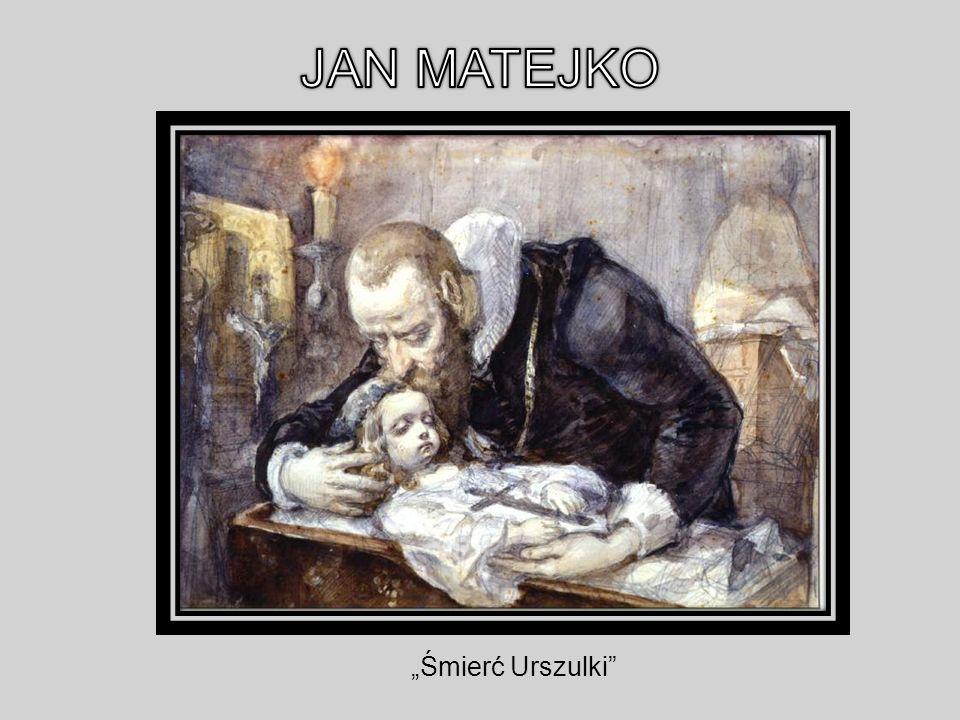 """JAN MATEJKO """"Śmierć Urszulki"""
