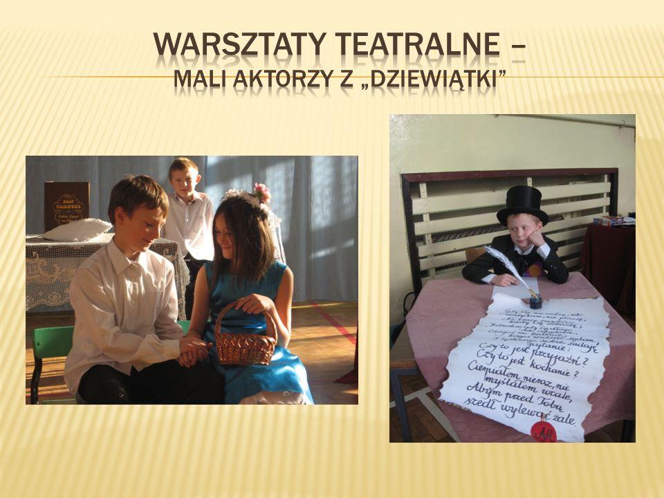 """Warsztaty teatralne – mali aktorzy z """"Dziewiątki"""