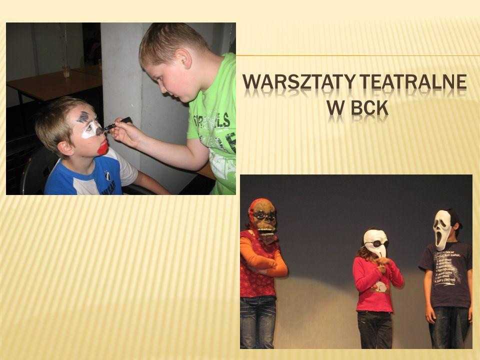 Warsztaty teatralne w BCK