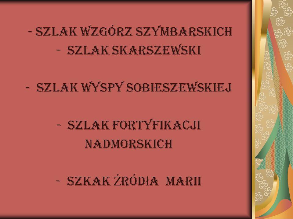 - Szlak Wzgórz Szymbarskich Szlak Skarszewski