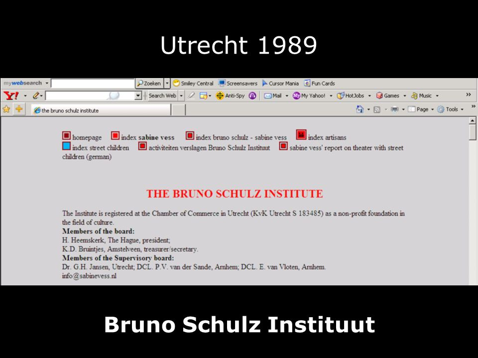 Bruno Schulz Instituut