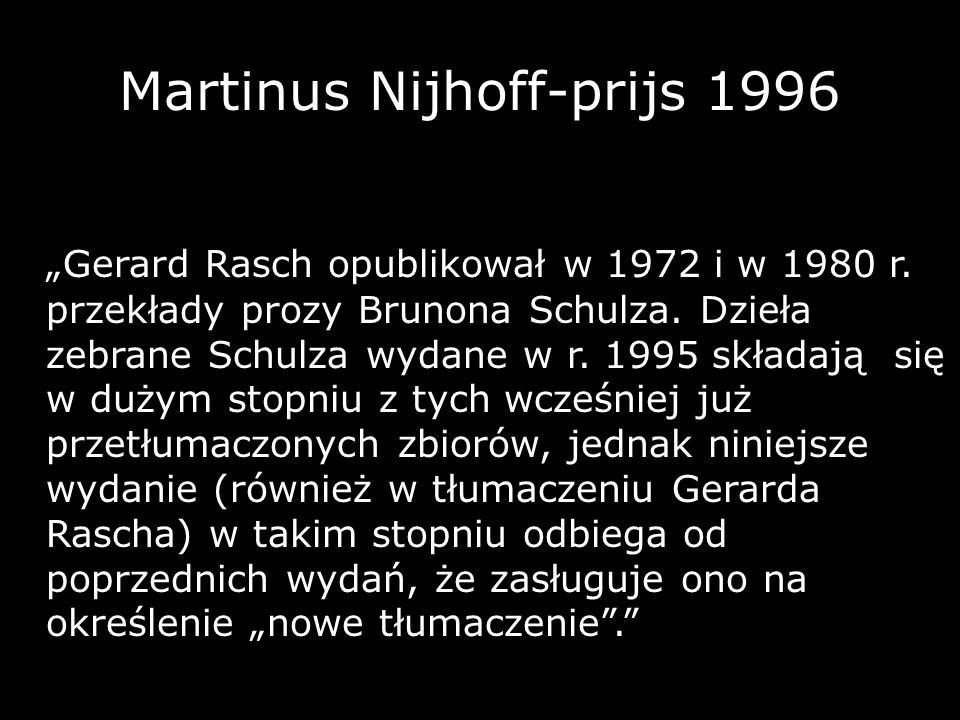 Martinus Nijhoff-prijs 1996