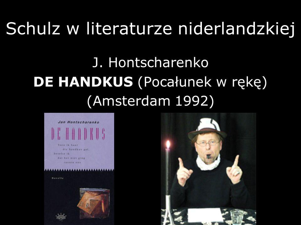 Schulz w literaturze niderlandzkiej