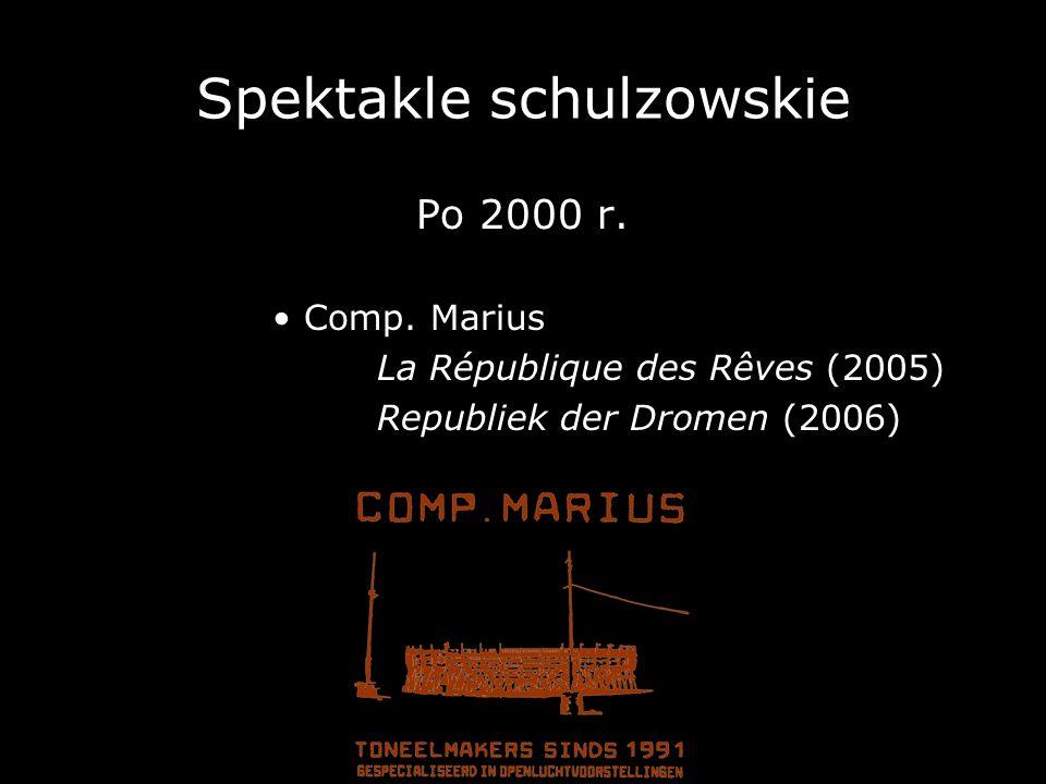 Spektakle schulzowskie