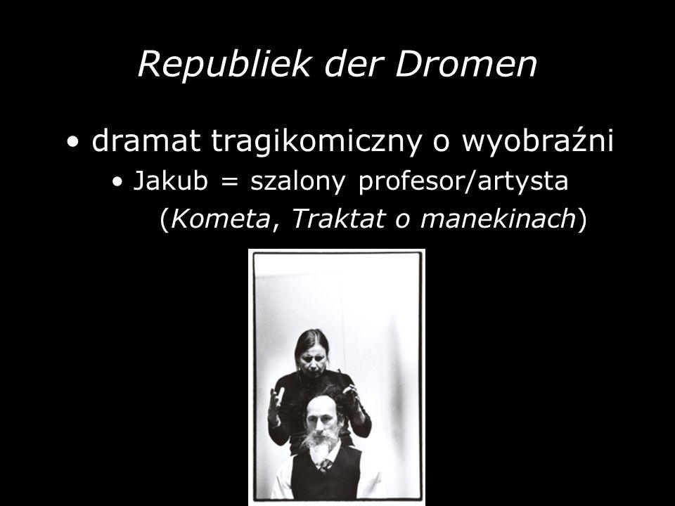 Republiek der Dromen • dramat tragikomiczny o wyobraźni