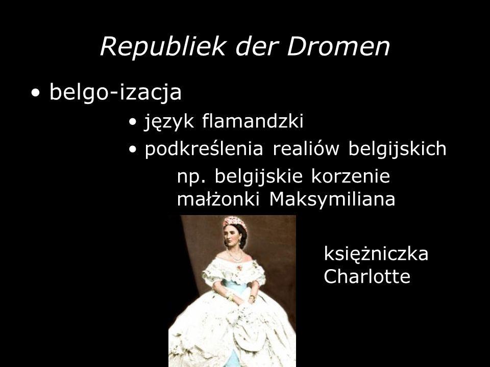 Republiek der Dromen • belgo-izacja • język flamandzki