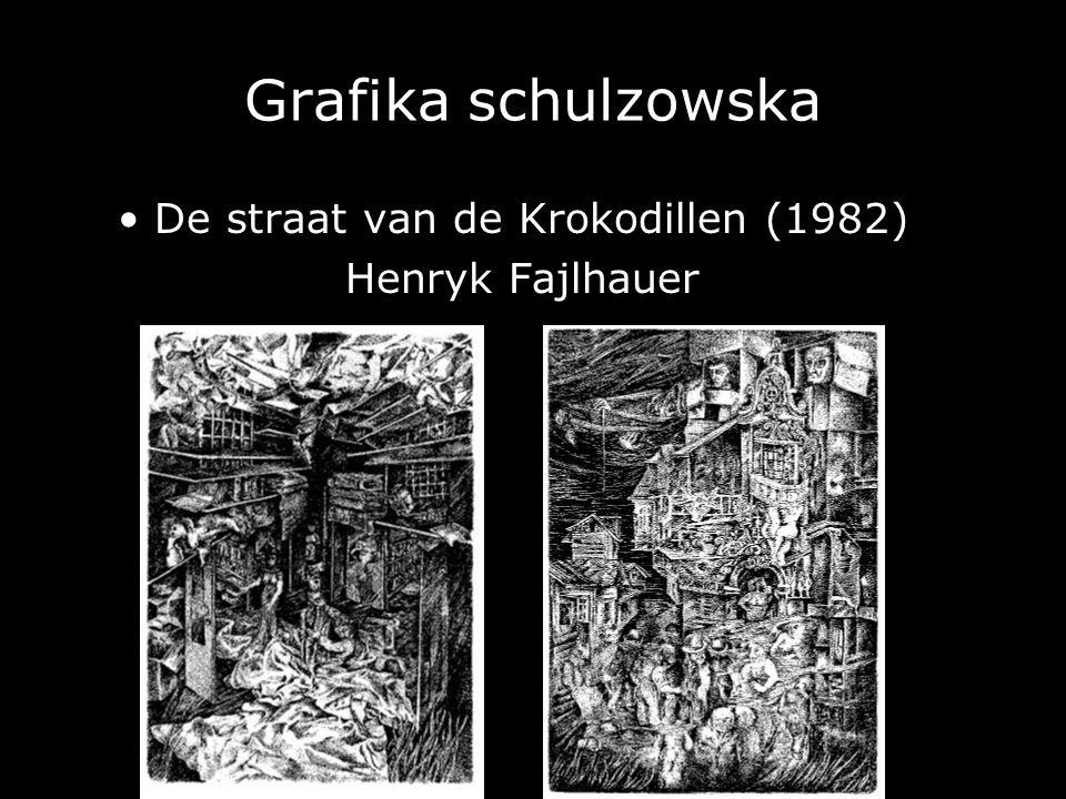 Grafika schulzowska • De straat van de Krokodillen (1982)