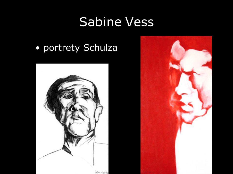 Sabine Vess • portrety Schulza