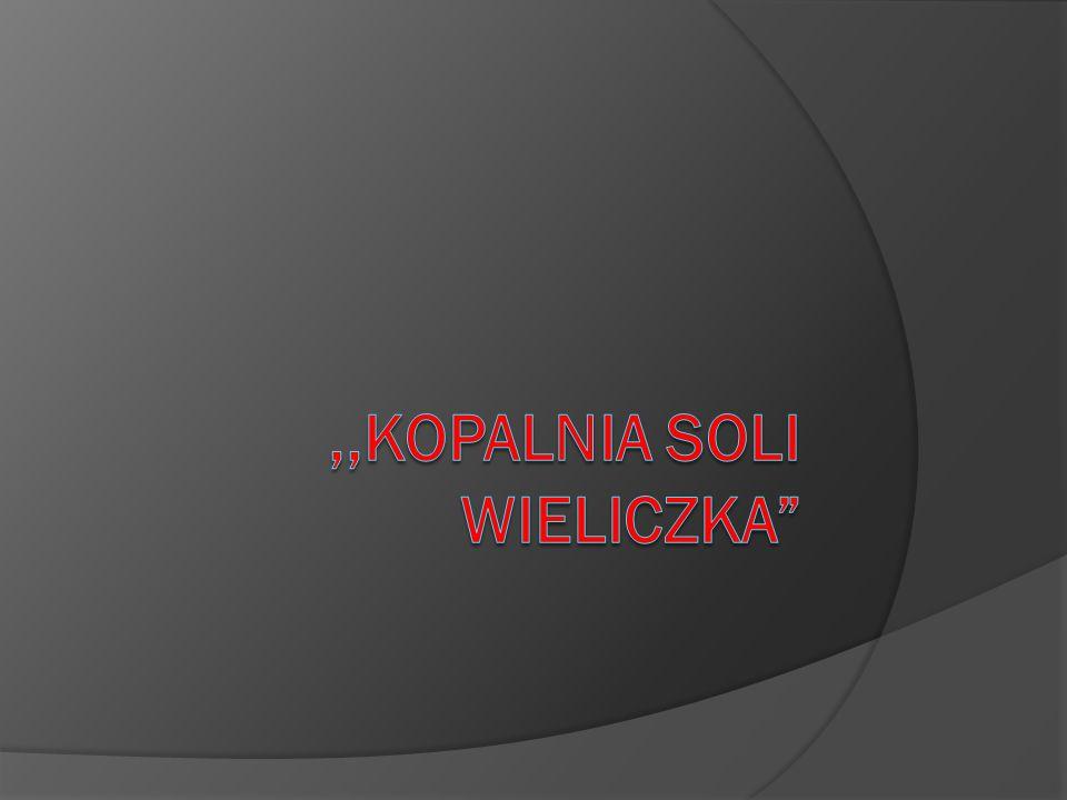 ,,Kopalnia soli Wieliczka