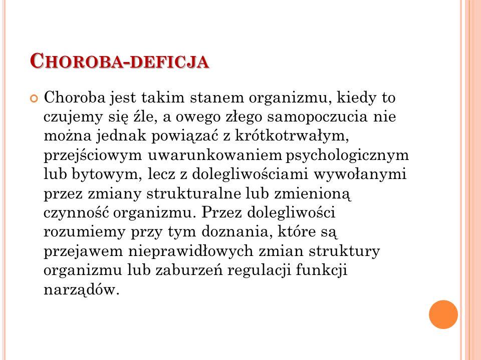 Choroba-deficja