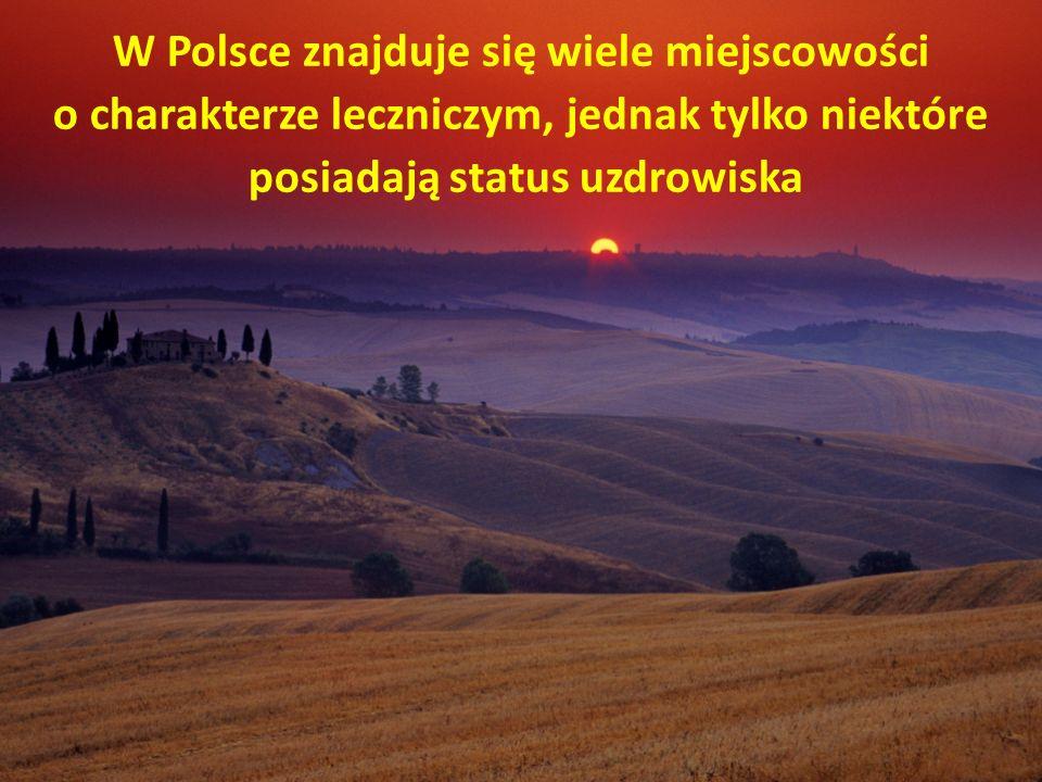 W Polsce znajduje się wiele miejscowości