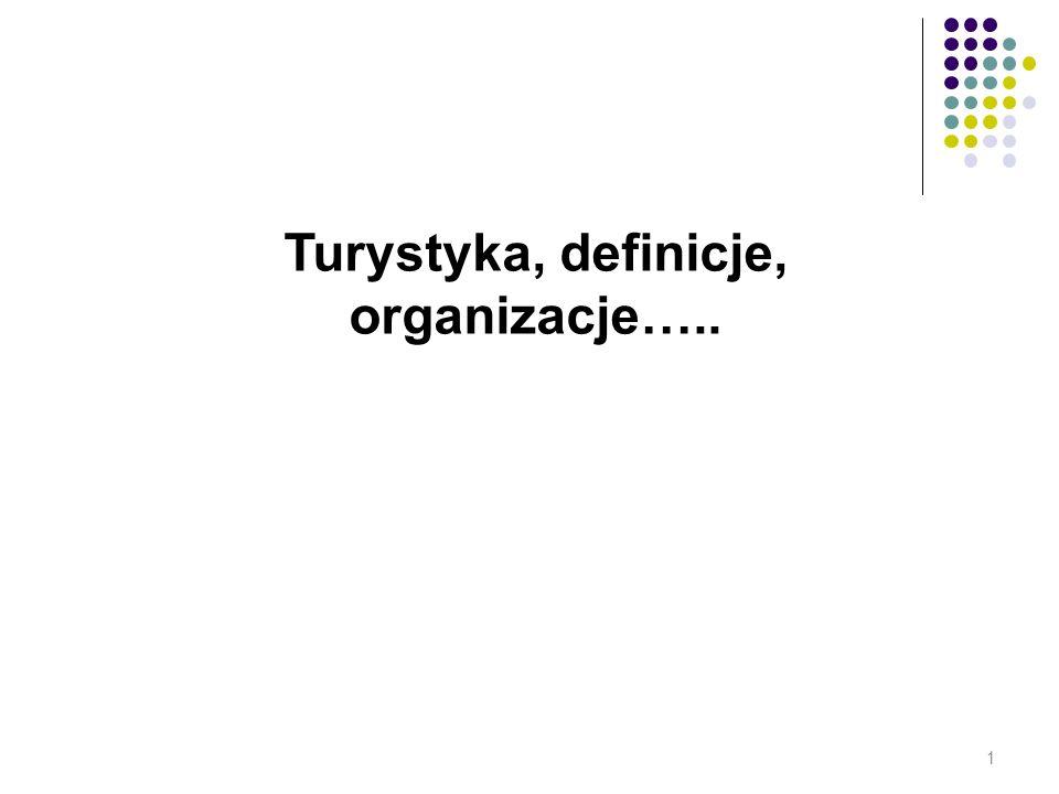 Turystyka, definicje, organizacje…..