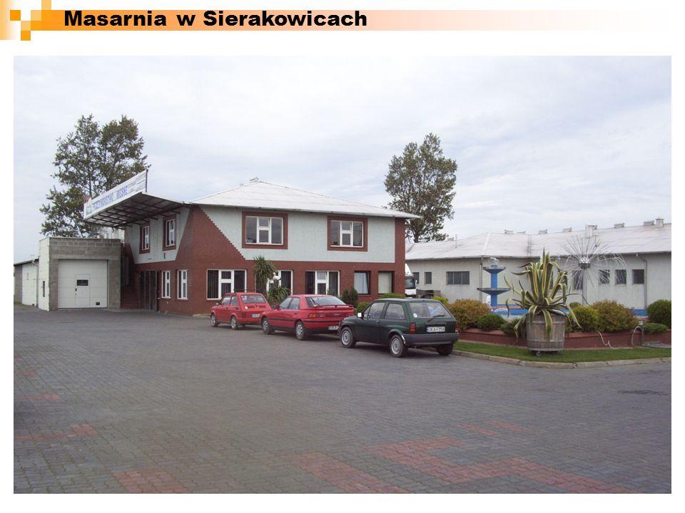 Masarnia w Sierakowicach