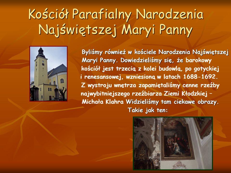 Kościół Parafialny Narodzenia Najświętszej Maryi Panny