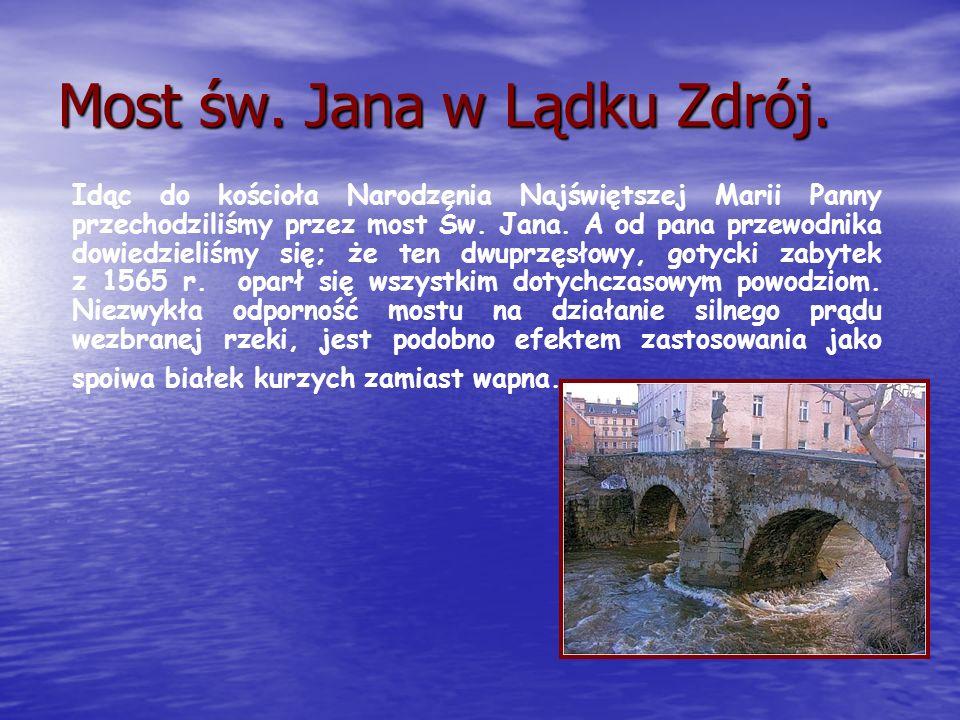 Most św. Jana w Lądku Zdrój.
