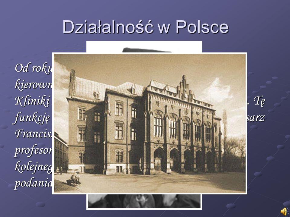 Działalność w Polsce