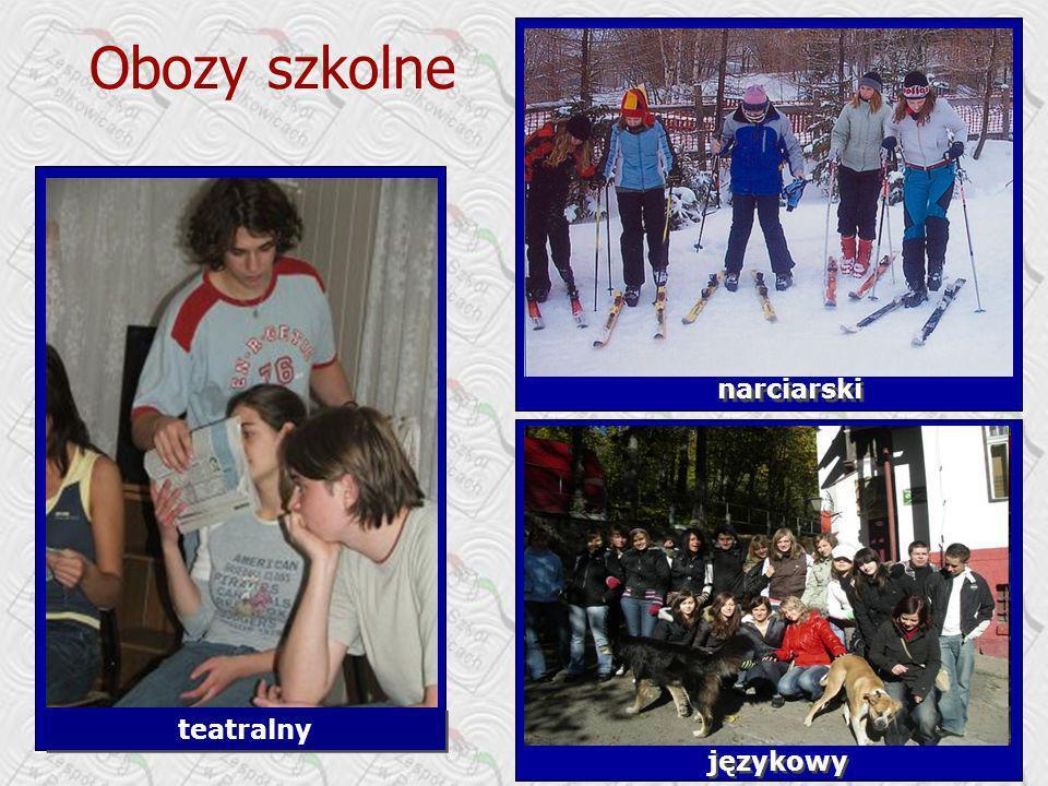 Obozy szkolne narciarski teatralny językowy