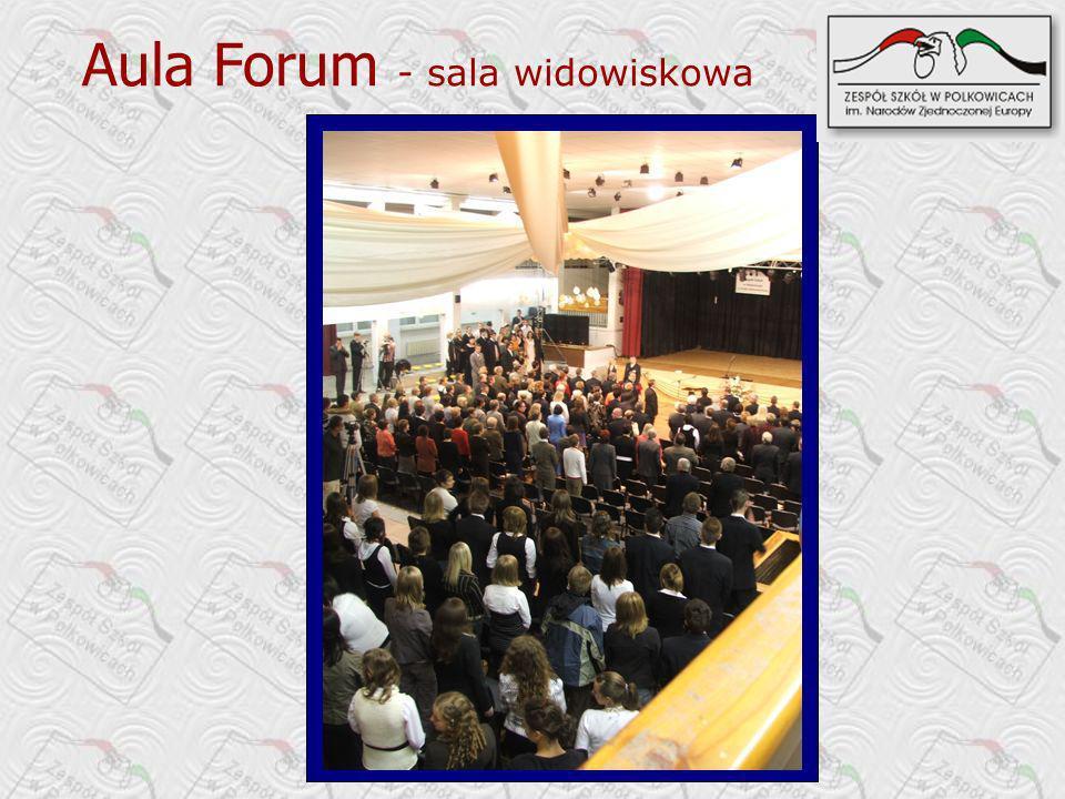 Aula Forum - sala widowiskowa